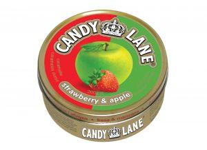 Леденцы Candy Lane Клубника и яблоко 200г ж/б