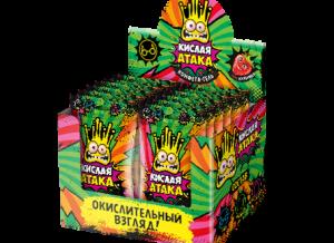 Жевательная конфета Кислая атака 4 гр