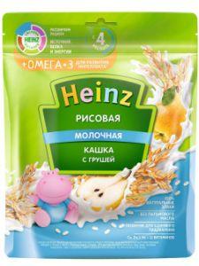 Каша Хайнц 200 гр мол. Рисовая Омега 3 с 4мес.