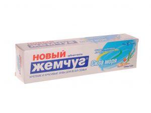 Зубная паста Новый жемчуг 120г/100 мл Сила моря
