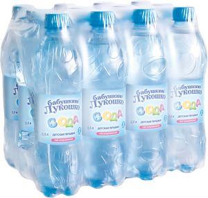 Вода детская 0,5л Бабушкино Лукошко