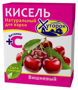 Кисель 180гр Вишня Бабушкин Хуторок