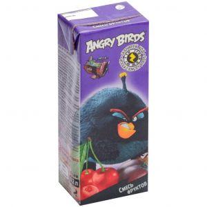 Нектар из смеси фруктов с мякотью 0,2 л Angry Birds