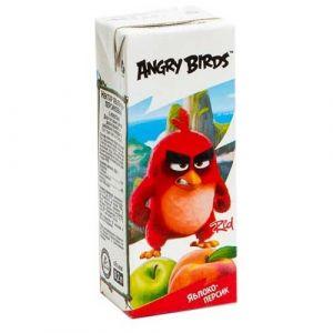 Нектар Яблочно-персиковый с мякотью 0,2 л Angry Birds