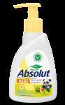 Мыло жидкое Абсолют 250 гр детское,череда, диспенсер