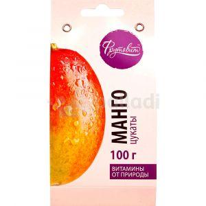 Манго сушеный цукаты 100г (Фрутовит)