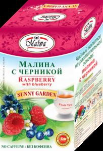 Напиток чайный цветочный Чаечек-шиповник с черникой 40г*20п*12 67771