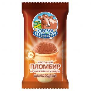 Пломбир в ваф. стакане 100 гр Шоколад КизК без з.м.ж