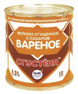 Молокосодержащий продукт Сгущенка варенка с сахаром Сгустена 730 гр
