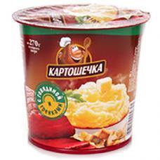 Пюре Картошечка 40 гр Гренки+говядина т/с