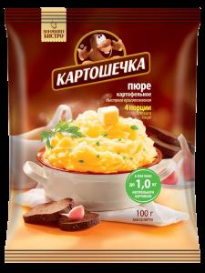 Пюре Картошечка 100 гр пакет