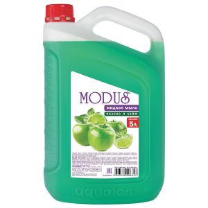 Жидкое мыло Яблоко и лайм 4л. MODUS