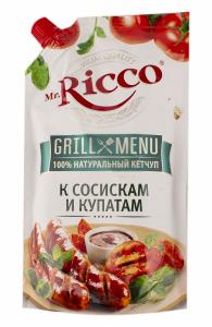 Кетчуп Mr.Ricco 350гр Томатный Grill Menu д/п