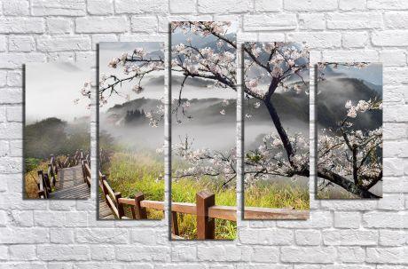 Модульная картина Пейзажи и природа 33
