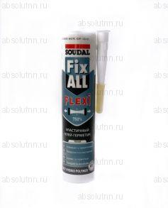 Клей-герметик SOUDAL Fix ALL FLEXI белый 290 мл