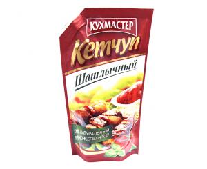Кетчуп Шашлычный Кухмастер, д/п, 260г