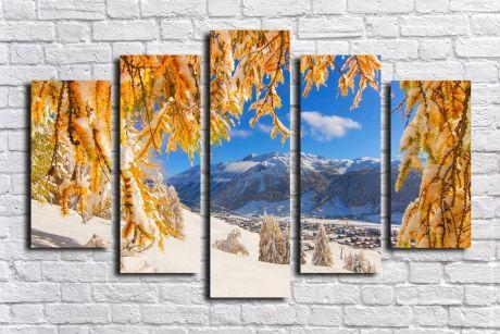 Модульная картина Пейзажи и природа 79