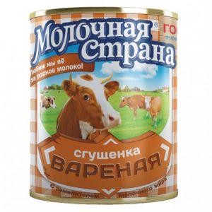 Молокосодержащий продукт Сгущенка вареная с сахаром 380 г.