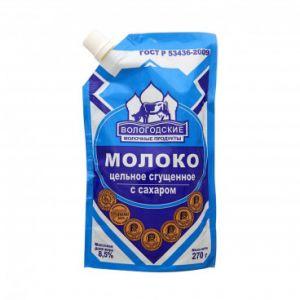 """Молоко сгущеное """"ГОСТ"""" ДойПак 270 г."""