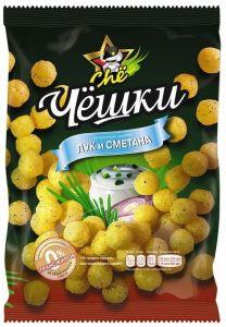 Кукурузные шарики Чё 60г Лук+Сметана