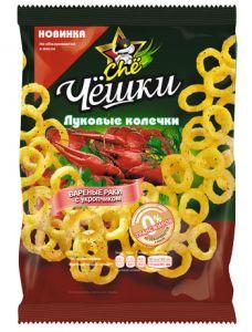 Кукурузные колечки Чё 40г Раки+Укроп