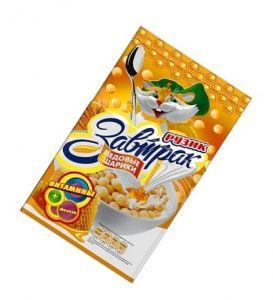 Завтрак сухой Медовые шарики Рузик 250г