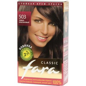 Краска FARA Classic 503 темно-каштановый