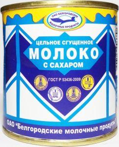 Молоко сгущеное СГУЩЕНОЧКА 370гр ж/б