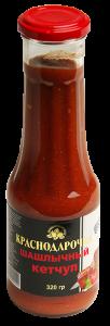 Кетчуп Краснодарочка 320гр томатный Шашлычный с/б твист