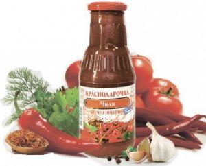 Кетчуп Краснодарочка 320гр томатный Чили с/б твист