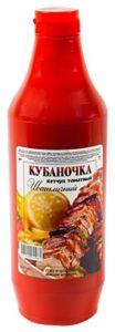 Кетчуп Кубаночка 900гр Шашлычный пл/б