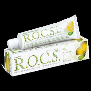 Зубная паста Рокс 74 гр Мята и Лимон