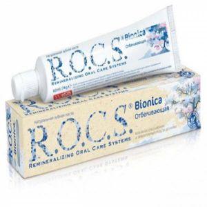 Зубная паста Рокс 74 гр Бионика отбеливающая