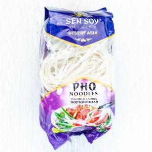"""Рисовая лапша порционная """"PHO NOODLES"""" (ПАКЕТ-300гр) Сэнсой Премиум"""