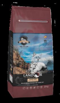 ЛАНДОР беззерновой для кошек индейка с бататом (LANDOR GRAIN FREE TURKEY & POTATO)