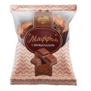 Маффин Русская Нива с шоколадом 80г 1х20