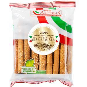 Палочка хлебная с маком 220 гр По-итальянски унив.пакет