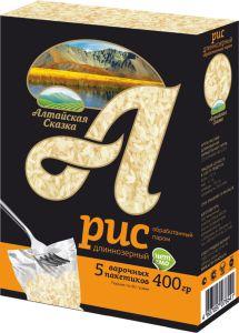 Рис круглозерный (5*80 гр) 400 гр Алтайская сказка
