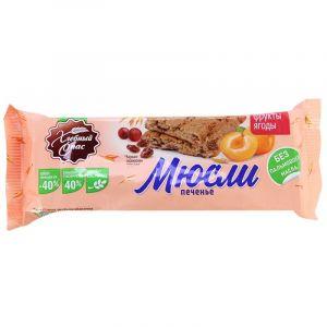 Печенье Мюсли-фрукты ягоды сдоб. 80гр Хлебный Спас