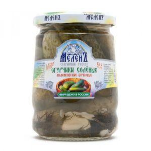 Огурцы соленые Меленковские 520 гр