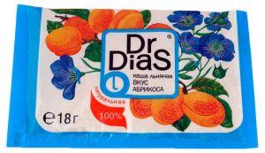 Каша льняная 18гр вкус абрикос Dr,DiaS