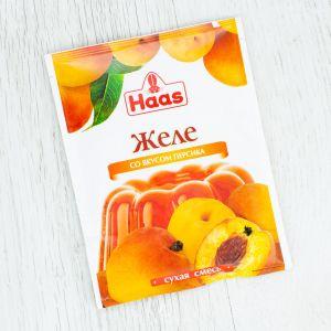 Желе десертное HAAS 50г Персик