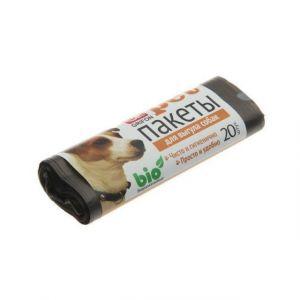 Пакеты для выгула собак GRIFON (25*40 см, 15мкм), 20шт