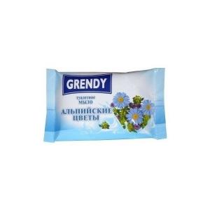 Мыло туалетное Гренди 75 гр. Альпийские цветы /90