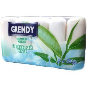 Мыло туалетное ГРЕНДИ 75 гр Зеленый чай