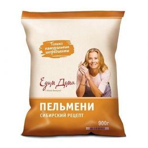 Пельмени Едим Дома Сибирский рецепт 900 г (Сиб. Гурман)