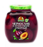 Компот Чернослив отборный 580мл ст/б Медведь Любимый