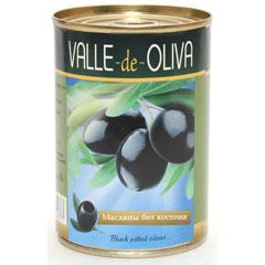 Маслины Valle De Oliva 280 мл б/к ж/б