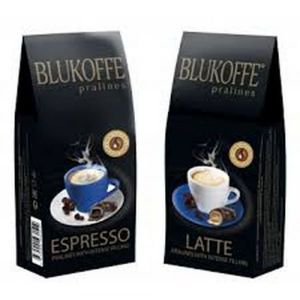 Набор Blukoffe Ассорти MokkaEspresso и MokkaLate с жидкими кофейными начинками 120 гр