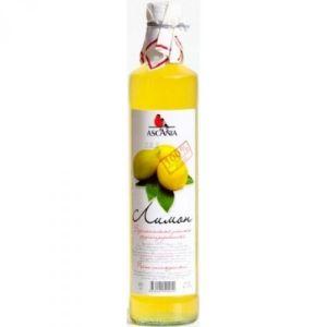 Напиток Аскания б/а Лимон с/б 0,5 л /12